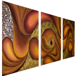 Multipanel Art Oilpaintings 414