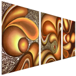 Multipanel Art Oilpaintings 417
