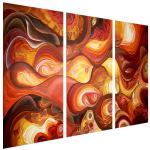 Multipanel Art Oilpaintings 419
