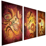 Multipanel Art Oilpaintings 420