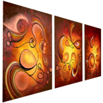 Multipanel Art Oilpaintings 421