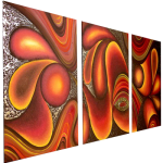 Multipanel Art Oilpaintings 422