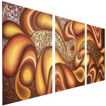 Multipanel Art Oilpaintings 423