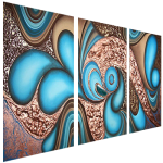 Multipanel Art Oilpaintings 427