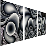 Multipanel Art Oilpaintings 428