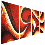 Multipanel Art Oilpaintings 460