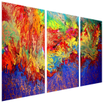 Multipanel Art Oilpaintings 462