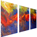 Multipanel Art Oilpaintings 463