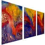 Multipanel Art Oilpaintings 464