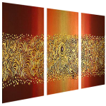 Multipanel Art Oilpaintings 474