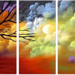 Premium Multipanel Art Oilpaintings GR561