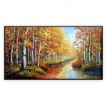 Canadian Art Oilpaintings 024GRP: 30x60inches,