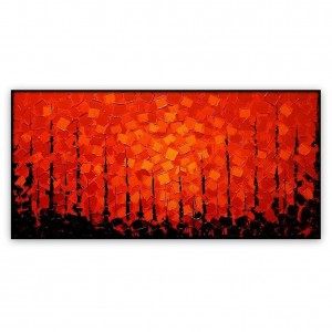 Abstract Art Oilpaintings - 055: 24x48""
