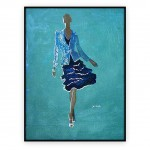 Fashion Art Oilpaintings 053: 30x40 inches